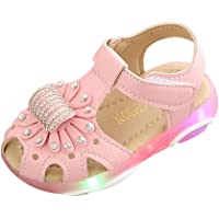 PLOT_Home First Walkers Shoes Baby Shoes Boys 0-6 Months Suede Soles Sandals Wetsuit Sneakers Children Baby Girl Crystal…