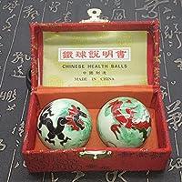 QTZS Chinesische Tradition Fitness-Ball Dekompression Handball Grün Drachen Und Phönix 50mm450g preisvergleich bei billige-tabletten.eu