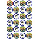 24x Timmy Time Cupcake Toppers