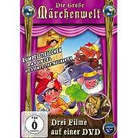 Die große Märchenwelt (Rumpelstilzchen, Rapunzel, Die Bremer Stadtmusikanten)