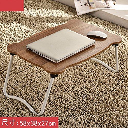Moderner Aktenschrank (KHSKX Laptop-Schreibtisch, Bett mit einfachen Tisch, moderner Klapptisch Schlafsaal faul, lernen kleiner Schreibtisch,6)