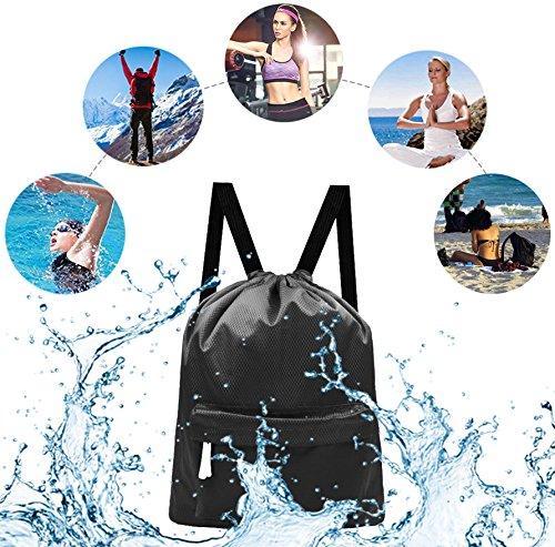 Imagen de sunnec gymsack  saco o de impermeable/resistente al agua modelo enhanced vis junior deporte/gimnasio alternativa
