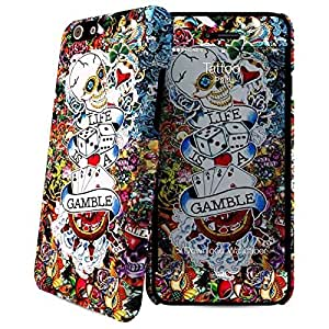 i-Paint Hard Case Coque Motif Tattoo + Film de protection d'écran pour iPhone 6