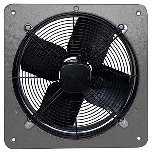 Vortice Aspiratore Elicoidale Trifase per ambienti commerciali ed industriali - Ideale per impianti di ventilazione aspirazione in capannoni fabbriche palestre - Diametro Nominale 400 mm 42261 A-E 404 T