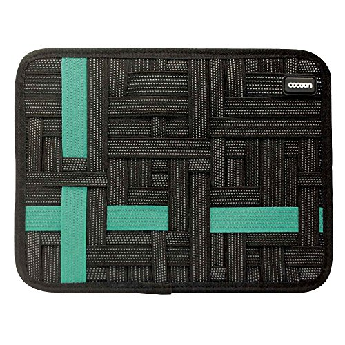 Grid-it Organizer (Cocoon CPG46BKT-NA Grid-It Pocket Organizer für Tablet 27,9 cm (11 Zoll) schwarz)
