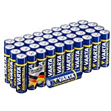 Varta Industrial Batterie AA Mignon Alkaline Batterien LR6-40er Pack, Made in Germany, umweltschonende Verpackung medium image