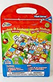 Graxis Snakes & Ladders Travel Game Road...