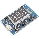 ARCELI Digital 2 Channal PWM Generador de señal de Pulso de Onda Cuadrada Ciclo de Trabajo de frecuencia Ajustable 100% 1Hz-1