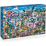 Gibsons I Love Great Britain Jigsaw Puzzle (1000 Piece) Puzzle by Gibsons