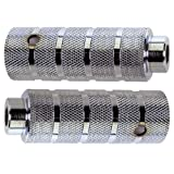 BMX Axle Pegs Stahl silber Paar für 14mm Achsen, 38x110mm