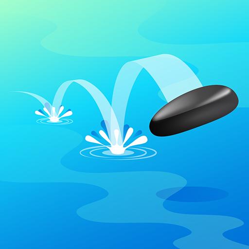 Stone Skipping Simulator - Improve Skimming Stones Skills: Free Games 2018 Casual-skimmer