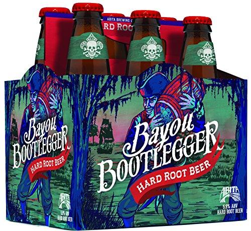 Abita Hard Root Beer Bayou Bootlegger (5,9% Vol.) 6x 355ml Flasche inklusive Einwegpfand