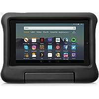 Custodia per bambini per tablet Fire 7 (compatibile con dispositivi di 9ª generazione, modello 2019), Nero