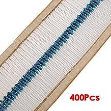 SODIAL(R) 1/4 W 5% Metal Film Resistor Kit 400pcs 40 Valores Surtido / paquete / Mix / Seleccion