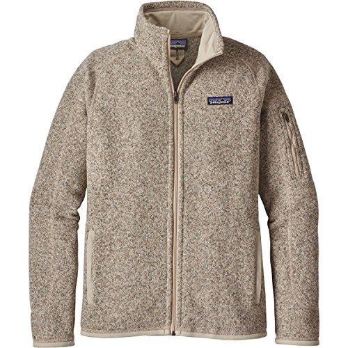 Patagonia Damen Jacke Better Sweater Fleece pelican beige