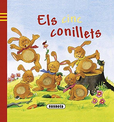 Els cinc conillets (Juga i apren) por Susaeta Ediciones S A