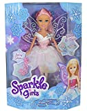 Sparkle Girlz Winter Fee Puppe 27cm - Kristall
