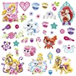 RoomMates Disney Princess - Palace Pets Peel and Stick Wall Decals