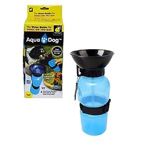 WayMore Portable Drinking Water Bottle Travel Bowl for Pet Dog