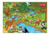 #3: Kidz Valle Wild Zone 48 Pieces Tiling Puzzles ( Jigsaw Puzzles , Puzzles for Kids, Floor Puzzles ), Puzzles for Kids Age 4 Years and Above