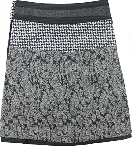 Moshiki Wende-Wickelrock Hot Cookie #13 Woven Midi L477