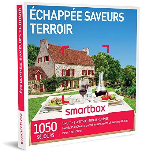 SMARTBOX - Coffret Cadeau - ÉCHAPPÉE SAVEURS TERROIR - 265 SÉJOURS : jolie maison...