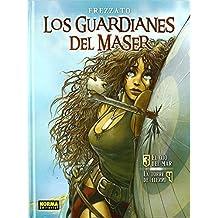 LOS GUARDIANES DEL MASER VOL. 2: 3. EL OJO DEL MAR / 4. LA TORRE DE HIERRO (CÓMIC EUROPEO) de Massimiliano Frezzato (1 dic 2003) Tapa dura