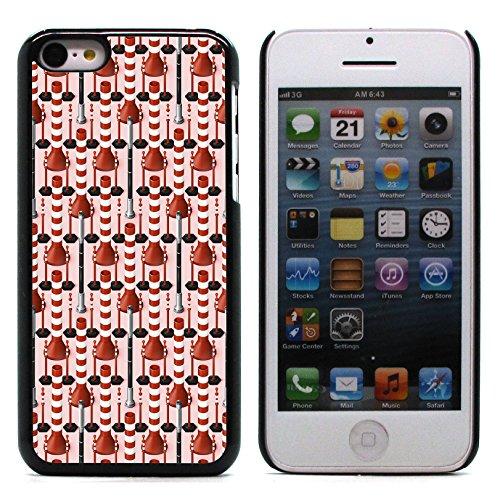 Graphic4You GLITCHY Muster Harte Hülle Case Tasche Schutzhülle für Apple iPhone 5C Design #5