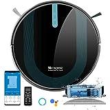 proscenic 850T Robot Aspirador y Fregasuelos, 3000Pa, Compatible con Alexa & Google Home, Muro Magnético, Depósito y Tanque 2