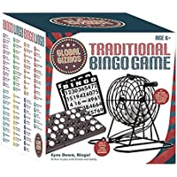 Global Gizmos Traditional Bingo Lotto Game Set