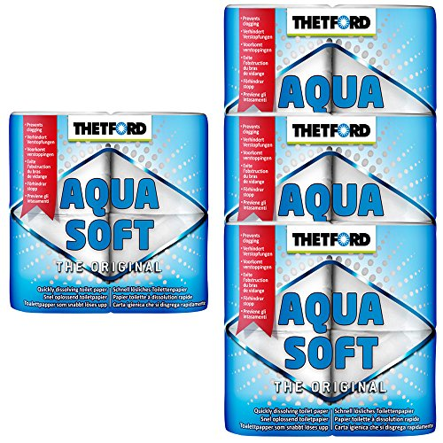 Thetford 4X Camping Toilettenpapier Aqua Soft