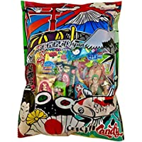 Japanese Candy Gift Bag 30 Sweets and Snacks (kitkat + popin Cookin DIY)