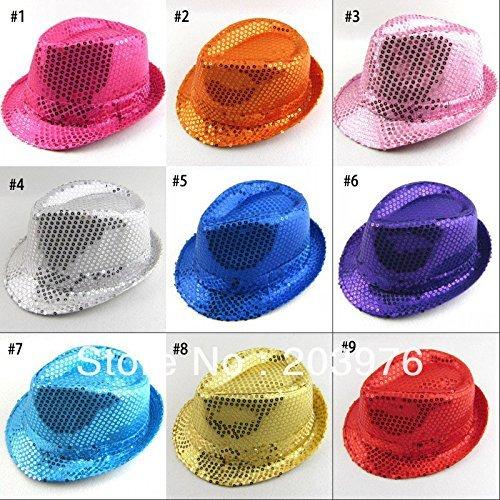 Cappello Borsalino con Paillettes Colori Assortiti