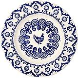 "Emma Bridgewater - Blue Hen & Border - 10.5"" Dinner Plate"