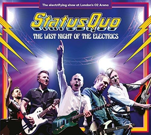 Status Quo - The Last Night of the Electrics Status Versand