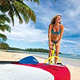 BIC Sport Kinder Stand Up Paddle Board Aufblasbar Air SUP, blau, 256 x 71 cm, 100536 - 3