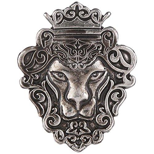 Tripin Lion Shape Tie Tack Lapel Pin Brooch For Men In A...