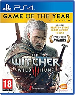 The Witcher 3 Game of the Year Edition (PS4) (B01JYW2F1G) | Amazon Products