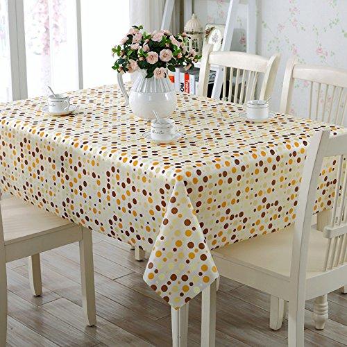 Flashing- Nordic Simplicité PVC Imperméable Nappe Salon Table Basse Quatre Saisons Table À Manger Table Tapis ( taille : 138*100cm )