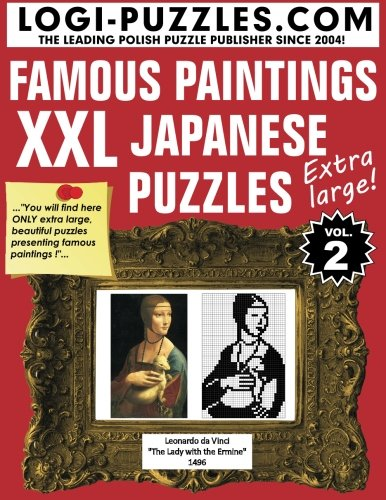 XXL Japanese Puzzles: Famous Paintings: Volume 2