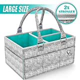 Best Bottom Diapers Inserts - Baby Diaper Caddy Organizer - Rokkes Nursery Storage Review