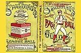 JP London spmurlt2512Ziegelsteinwand Abnehmbare Wand Wandbild Vintage Spalding Baseball AD bei 61cm hoch x 91,4cm breit
