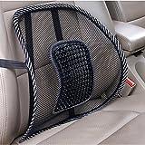 Marke neue 2x unteren Rücken Lendenwirbelstütze Mesh Kissen Höchste Qualität Schmerzlinderung Körperhaltung Massage Autositz