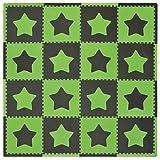 Tadpoles Playmat, Stars/Green/Brown