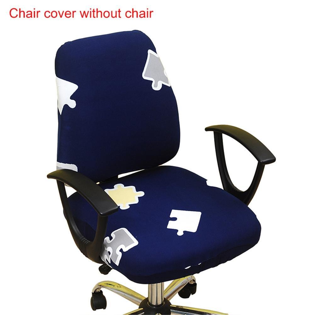 da protezione Sedia sedia Sedia scrivania sedia sedia ufficio Fodera Fodera Copertura Fodera Copridivano da per Fodera girevole di per Sedia per EHYDeI9W2