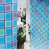 Verre Static Decorative Stained Frosted Window glass film-MP-004 (135cms X 90cms)