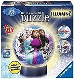 Ravensburger - 12183 - Puzzle 3d - Reine des Neiges Illuminé - 72 Pièces