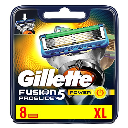 Price comparison product image Gillette Fusion ProGlide Power Razor Blades for Men Pack of 8