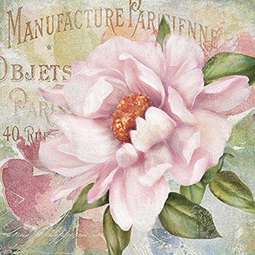 Carol Garten (Keilrahmen-Bild - Carol Robinson: Parfum de Paris II 50 x 50 cm Leinwandbild)