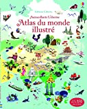 Atlas du monde illustré - Documentaires en autocollants